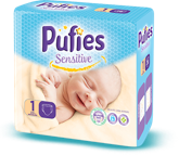 Pufies Sensitive: Package Size 1