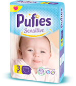 Pufies Sensitive: Package Size 3